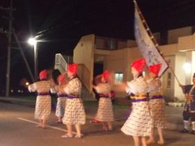 島のお祭り